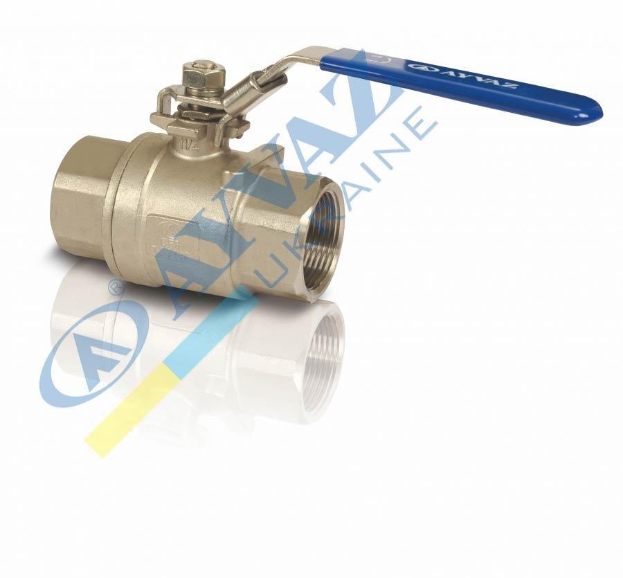 Кран муфтовый шаровой для воды и газа V-2T НЖ