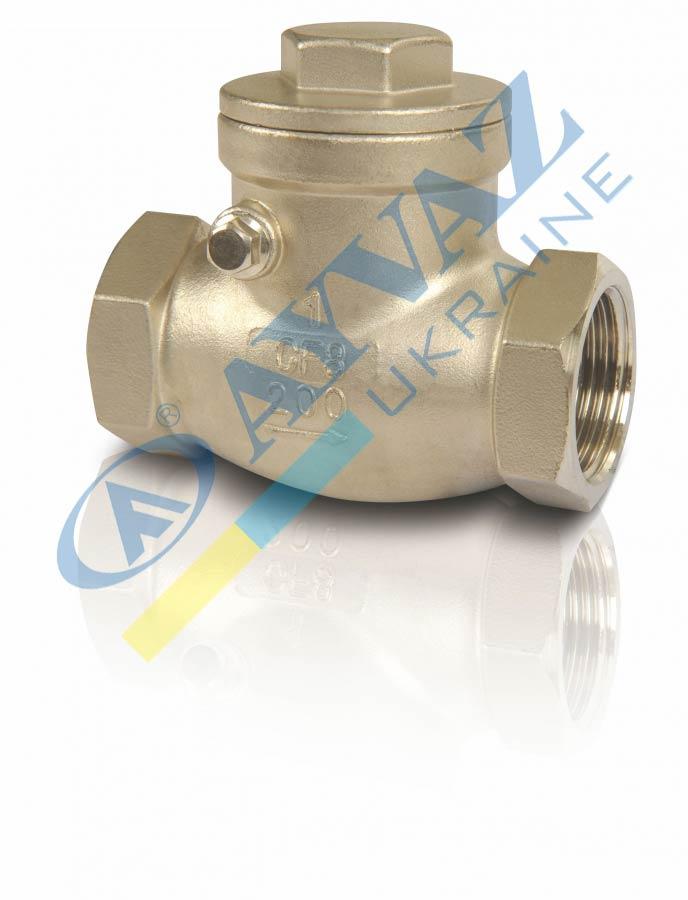 Клапан обратный муфтовый Н/Ж горизонтальный SC-200