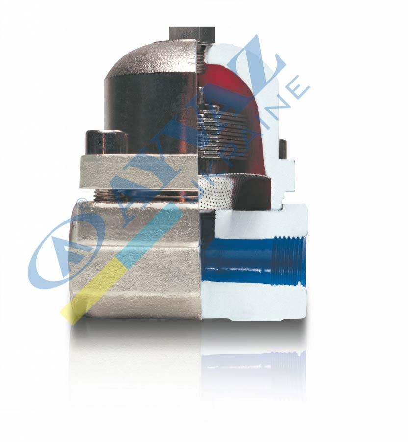 Конденсатоотводчик Термостатический (фланцевый) биметаллический TK-1