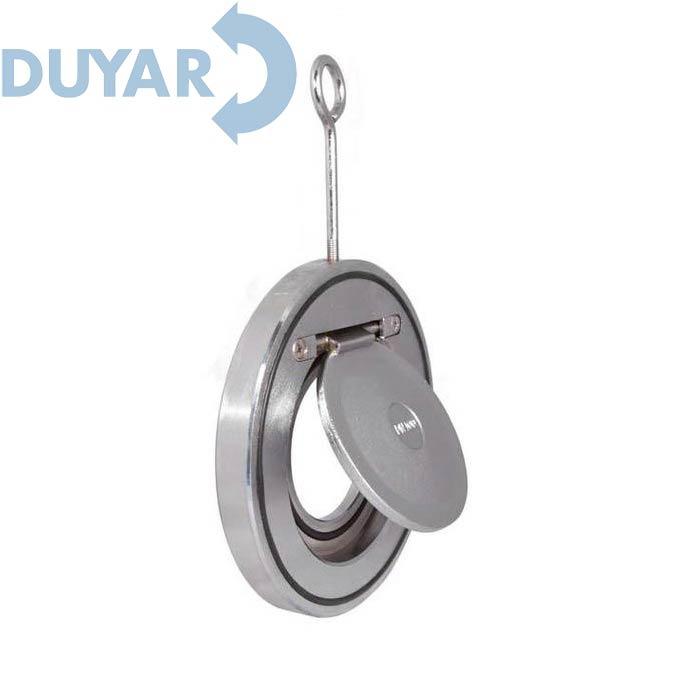 Клапан зворотний поворотний (міжфланцевий)