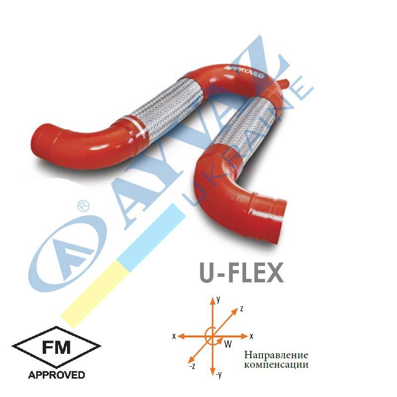 З'єднувальний елемент U-Flex (приварний)