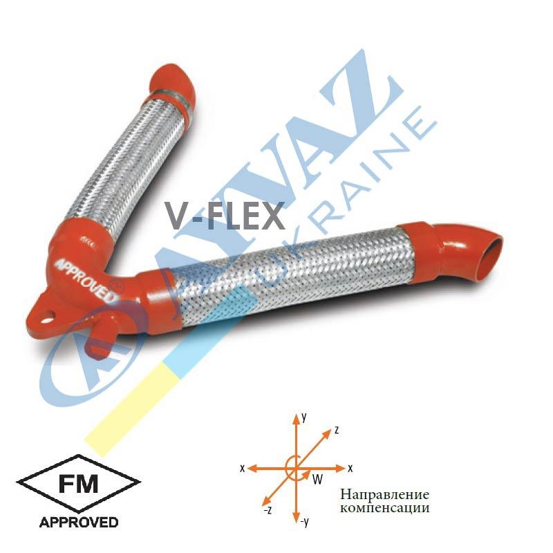 Соединительный элемент V-Flex (фланцевый)