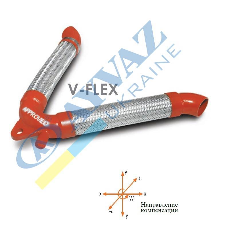 Компенсатор армований V-Flex (приварне з'єднання)