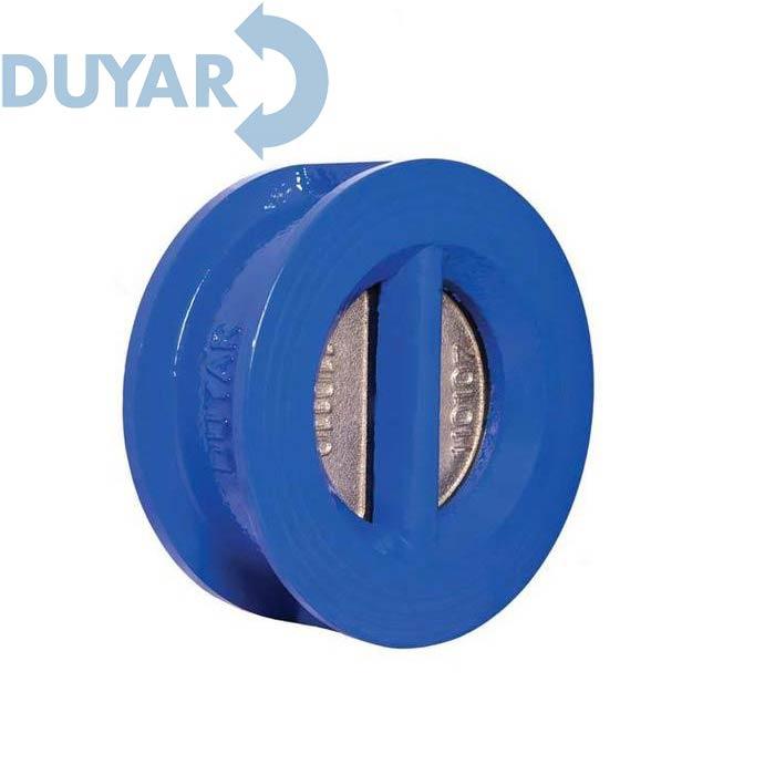 Клапан обратный двухстворчатый (межфланцевый) DUYAR