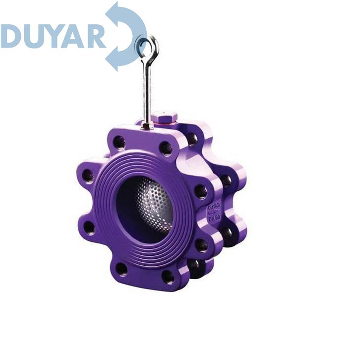 Фильтр межфланцевый сферической формы DUYAR
