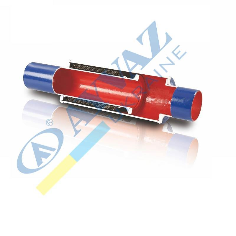 Компенсатор осьовий з зовнішнім тиском DBKK-90 (приварний)