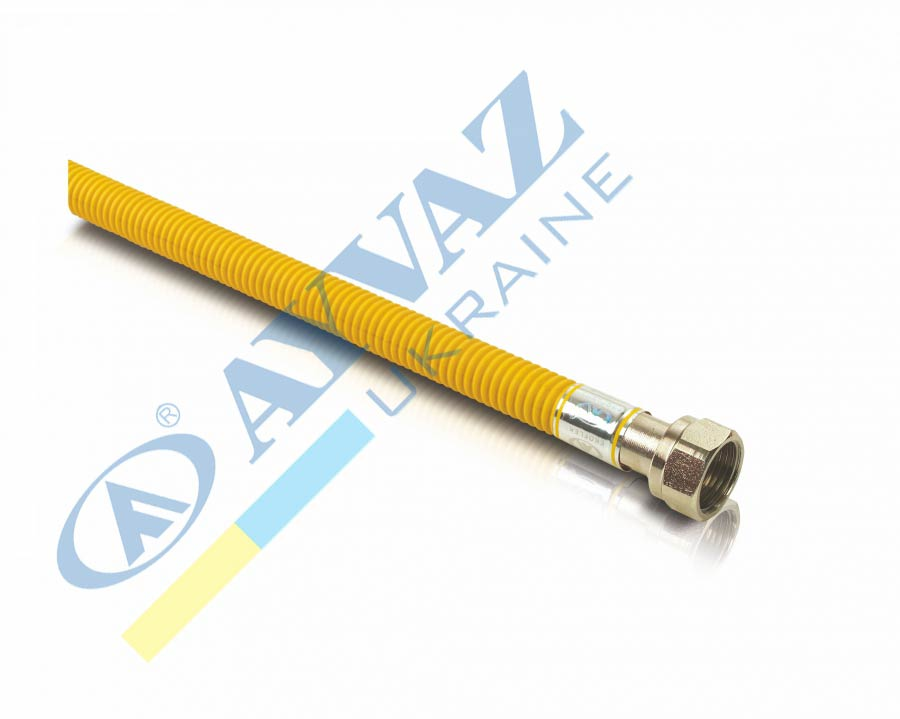 Шланг для газу н/ж Gas-Flex в ізоляції 20-200см