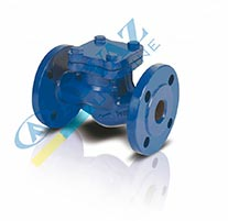 Клапан зворотний фланцевий CLV-50