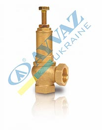 Клапан предохранительный муфтовый с регулировкой давления SV-254 (EV-10)