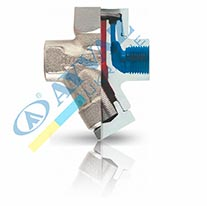 Конденсатоотводчик Термодинамический (муфтовий) TDK-PS