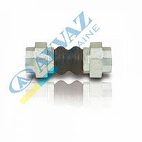Компенсатор резиновый муфтовый (вибровставка) DKK-10