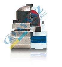 Конденсатоотводчик Термостатический  (муфтовый) биметаллический TK-1