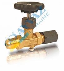 Вентиль муфтовий для манометрів MV-416 417