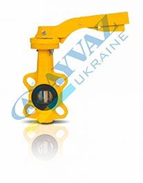Затвор поворотный для газа KV-9
