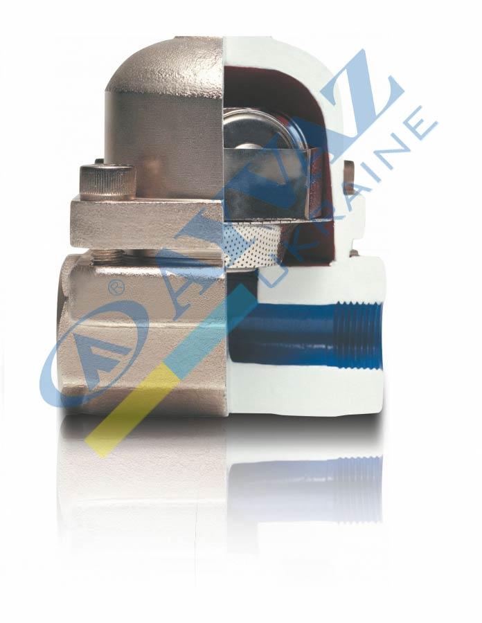 Конденсатовідвідник Термостатичний (муфтовий) трьохкапсульний TKK-3