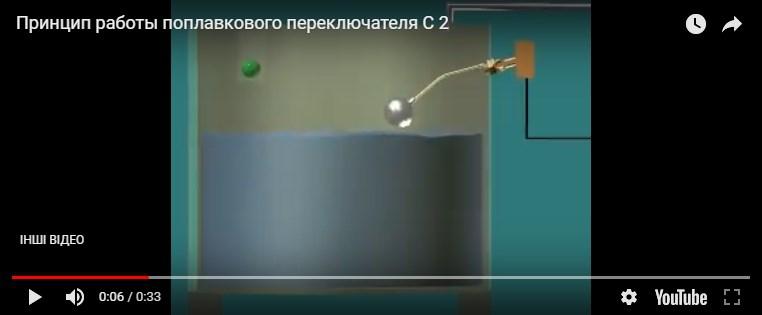 Поплавковий перемикач н/ж С-2