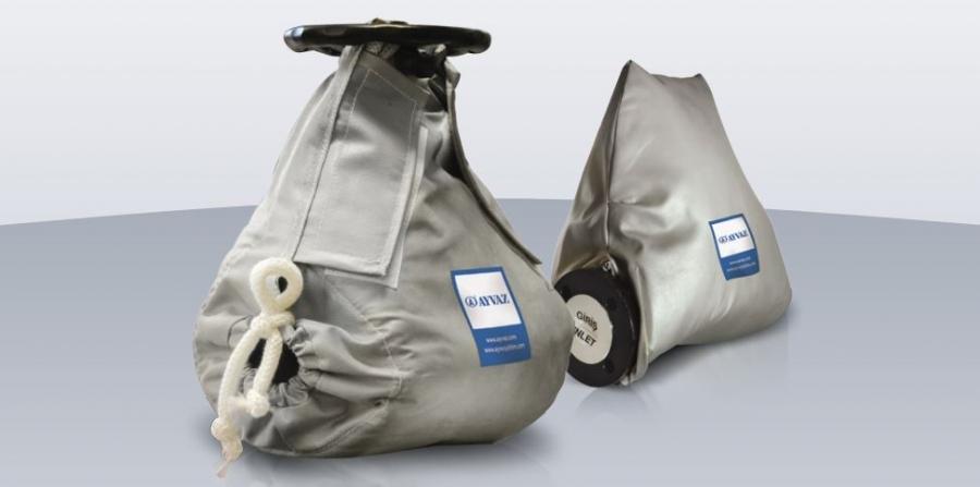 Термоізоляційні чохли для трубопровідної арматури