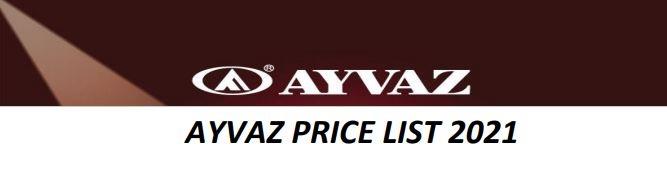 Обновление цен на продукцию Айваз на 2021 год