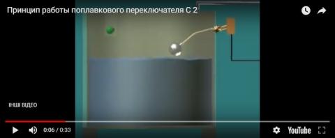 Видеообзор поплавкового переключателя н/ж С-2