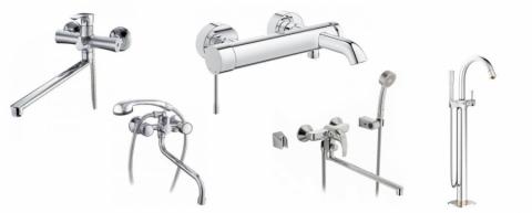 Який вибрати змішувач для ванної